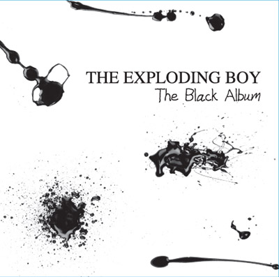 Cover - The Exploding Boy - The Black Album