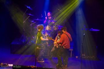 Setzen auch mal den Roadie ans Schlagzeug: Dispatch (Sacha Saxer)