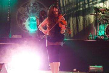 Meri Tadic's letzter Auftritt mit Eluveitie (Sacha Saxer)