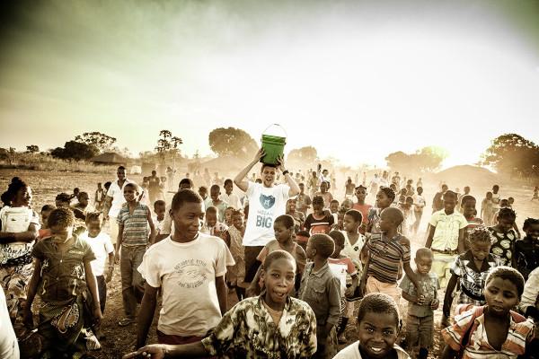 Viva con Agua Knackeboul in Mosambik