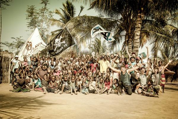 Viva con Agua Crew Mosambik