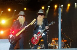 Das Highlight des ersten Rock the Ring: ZZ Top (Foto: Sacha Saxer)