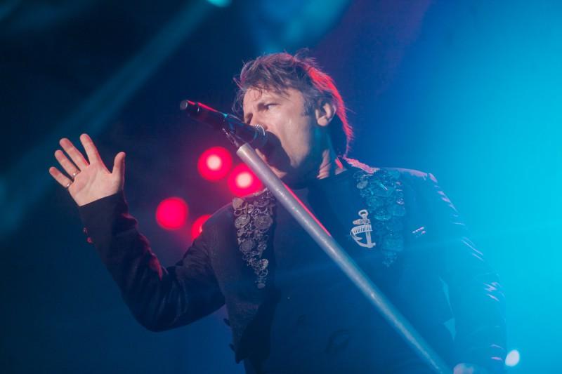 Sorgte leider für keine Überraschungen: Bruce Dickinson von Iron Maiden (Foto:Sacha Saxer)