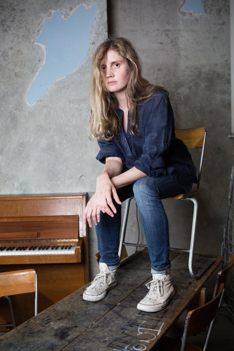 Barbara Lehnhoff aka Camilla Sparksss im Cabaret Voltaire