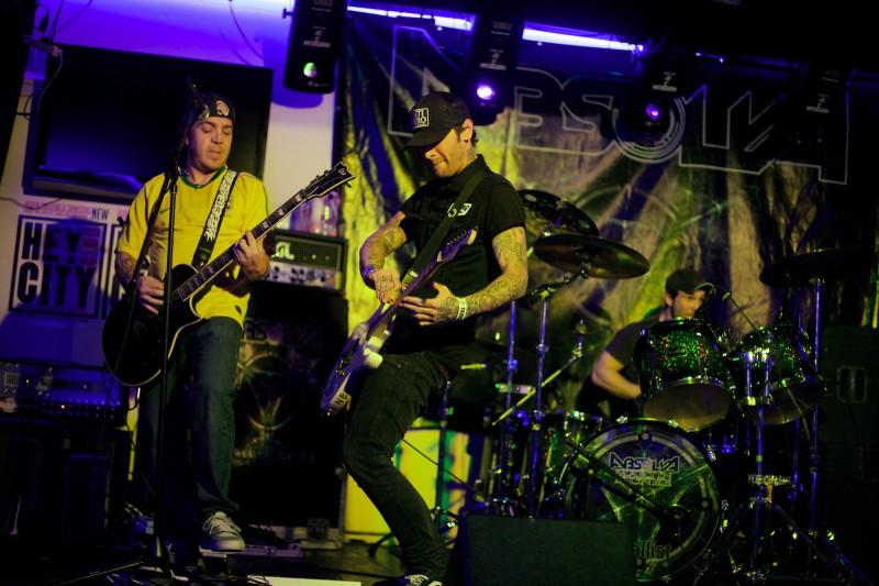 Days We Are Even als Support für Absolva im Hey Club (Foto: Sacha Saxer)