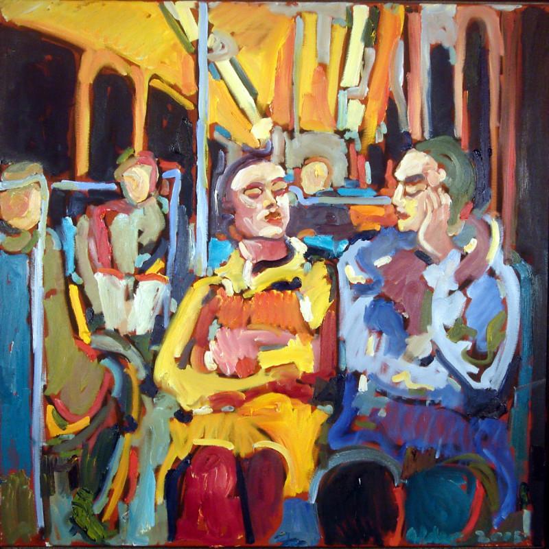 In der Metro (Bild: Bernd Alder)