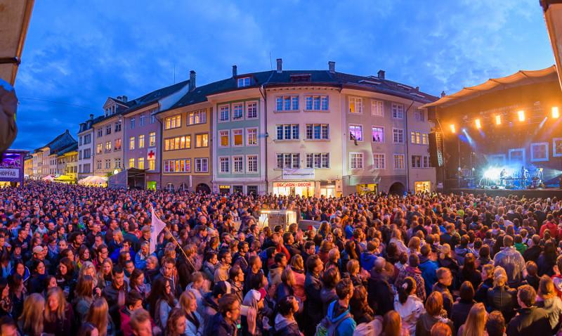 Auch 2015 verwandelt sich die Steinberggasse wieder zum musikalischen Zentrum (Foto: Marc Zander)