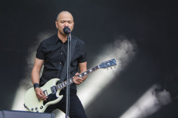 Das kanadische Power-Trio Danko Jones rockt Greenfield (Foto: Christoph Gurtner)