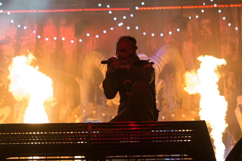 Corey Taylor von Slipknot (Foto: Christoph Gurtner)