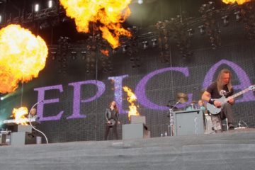 Epica am Wacken Open Air 2015 (Foto: Sacha Saxer)