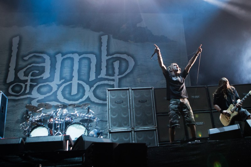 Lamb of God am Greenfield 2015 (Foto: Christoph Gurtner)