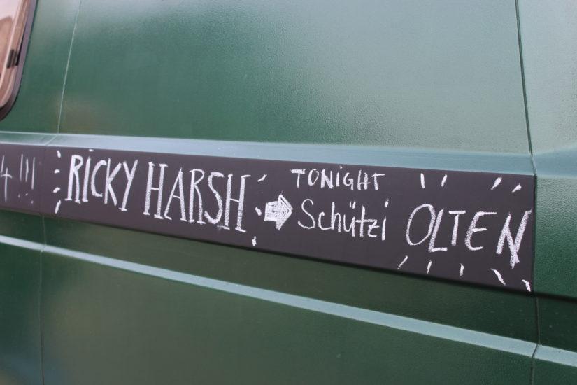 Ricky Harsh unterwegs nach Olten