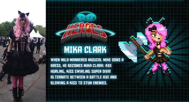 virtuell und real: Mika Clark (Foto: Evelyne Oberholzer/Bitmap Bureau)