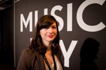 Roxanne de Bastian an der republica 2016