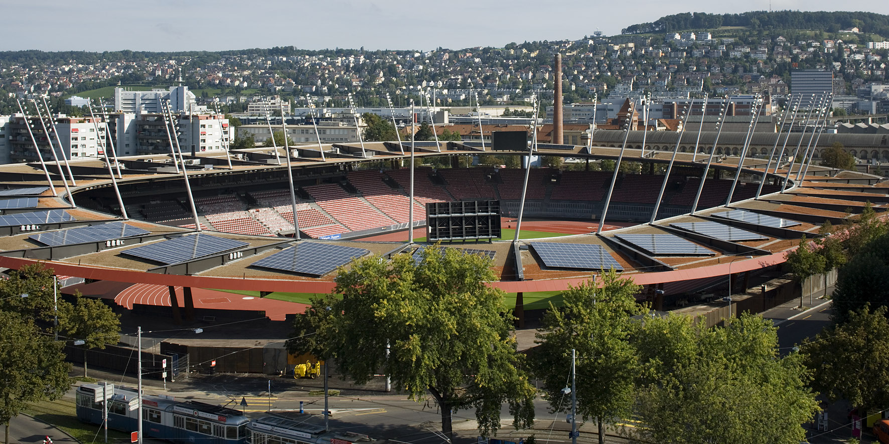 Stadion Letzigrund in Zürich