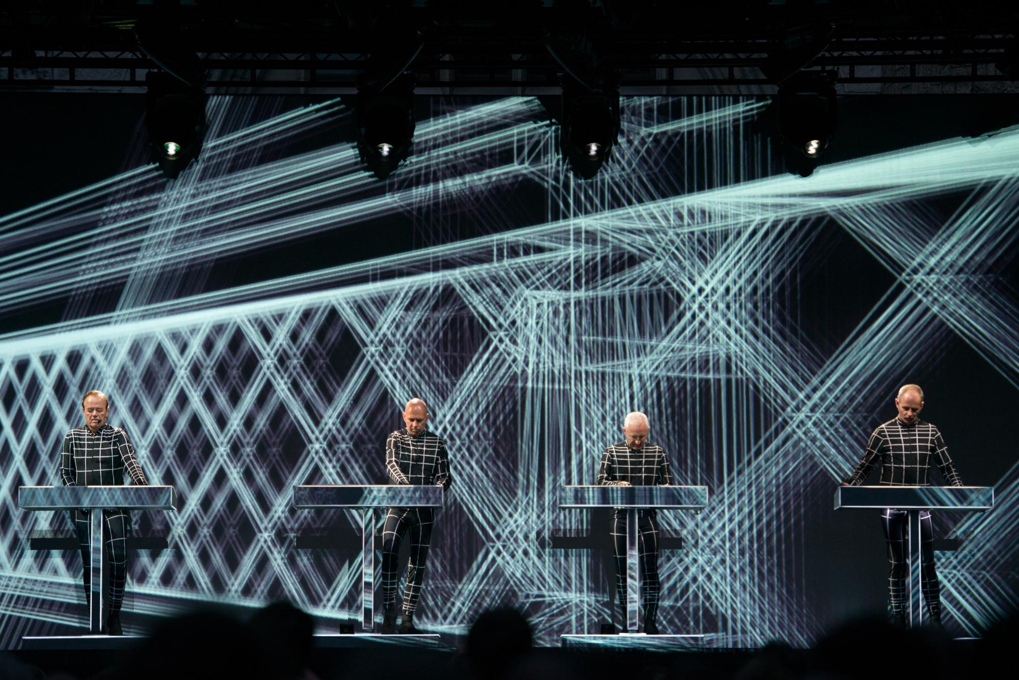 Kraftwerk am Unique Moments in Zürich