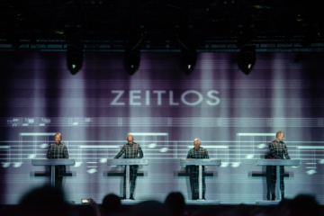 Kraftwerk am Unique Moments in Zürich