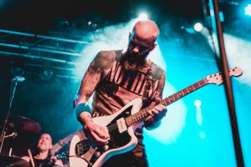 Der Gitarrist von Baroness Live im Dynamo