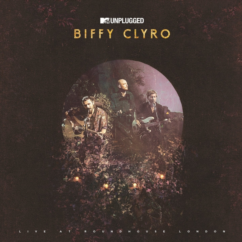 Biffy Clyro Unplugged Artwork